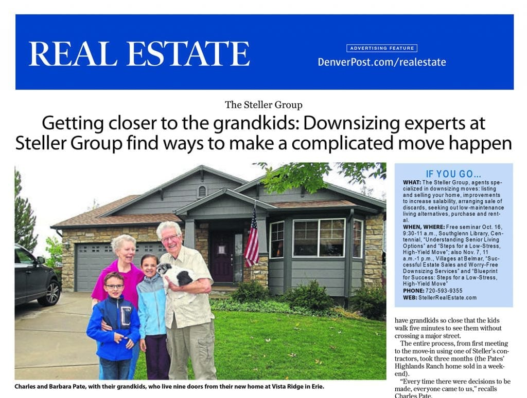 In The News Denver Post Feature The Steller Group